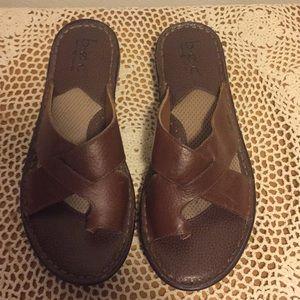 Box Born Concepts Sandal Brown Size 9 Medium
